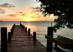 Belize sunset