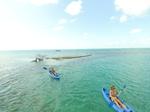 Belize kayakers