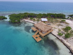 Belize over water bungalow