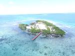 Belize private island rental Little Peter Oasis